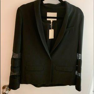 NWT Maje Silk/ Lace Blazer.